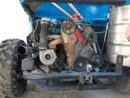 Kit turbo do motor ap pulsativo no farol com turbina .60