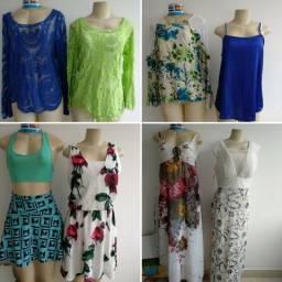 3b5f91515ec Lote roupas fabricação própria 43 peças novas
