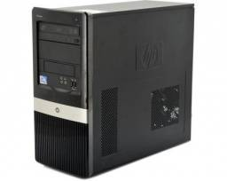 Cpu HP Compaq Core 2 Duo formatada. Leia, por favor