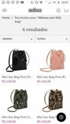 Bolsa melissa mini sac bag
