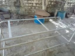 Base de mesa em cano cauvanizado de 1 polegada 100reais