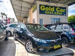 Honda Civic LXR 2.0 2014 ( PADRÃO GOLD CAR ) - 2014