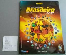 Álbum campeonato brasileiro com 297 figurinhas