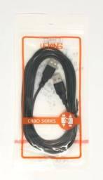 Cabo USB Macho e Macho de 2 Metros Hi-Speed Novo na Embalagem