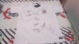 41e564e1b50 Camisa do Corinthians Original autografada