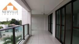 Apartamento com 4 quartos para alugar, 207 m² por R$ 5.920/mês - Santo Amaro - Recife