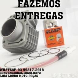 Kit Cilindro Kmp Fan Titan 125 09 /17 p/170cc Cabo Ibooster