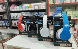Fones de ouvido via Bluetooth