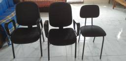 Jogo de cadeiras de escritorio