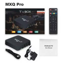 TV box mxq pro 8 GB de ram e 128 de memória