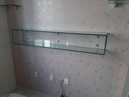 Nincho de vidro 1 metro por 20 por 20