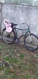 Bicicleta com cadeirinha nova ( Leiam o anúncio