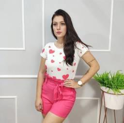Short Clochard Rosa Pink - Tamanho M
