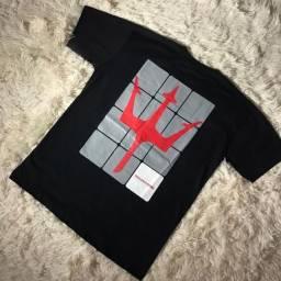 Camisas 100% algodão (novas)