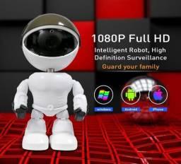 Baba Eletrônica Robo Com Visão Noturna E Sensor De Movimento