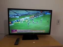 Tv Led 32 Panasonic L32b6Bb Conversor Digital Sistema Ginga- Hdmi e Usb- ac. Cartão