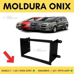 Moldura Gm Cobalt / spin / onix / prisma 2din Moudura Dois Din Dim
