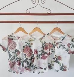 T-shirt Blusinha Camiseta Feminina