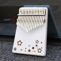 Kalimba 17 teclas Piano de Mão Instrumento Musical