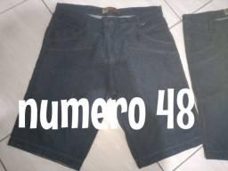 Calça jeans masculina número 48