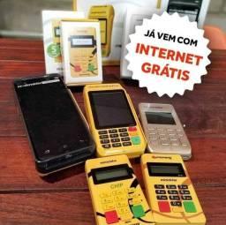 Maquininha de Cartão PagSeguro e Mercado Pago