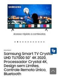 Smart TV Samsung 4k cristal lançamento NOVA