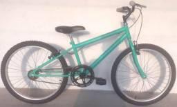 Bicicleta aro 24 verde claro nova