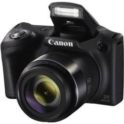 "Câmera Canon PowerShot SX420 IS, 20MP, Tela 3.0"", Wi-Fi/NFC -"