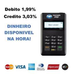 Maquina Pointer Mine Aceito Cartao Credito e Debito