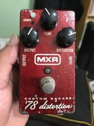 Pedal MXR custom Badass 78 distortion