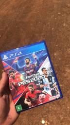 Vendo PES 2020 PARA PS4 OU TROCO