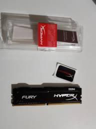 Memória ram DDR4 8GB 2400mhz