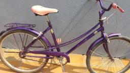 Bicicleta antiga Caloi Ceci aro 26 roxa