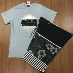 Bermuda + camisa