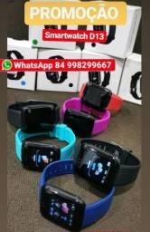 Relogio smartwatch compatível com Android e iPhone modelo D13