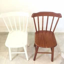 Mesas e Cadeiras Madeira