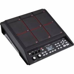 Bateria Percussão Digital Sampler Pad Roland SPD-SX + brinde