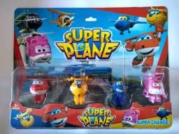 Super Wings Cartela c/ 4 brinquedos
