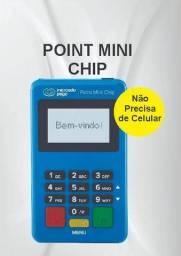 Maquininha MercadoPago Point Mini Chip (Não Precisa de Celular).