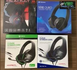 Headset's Novos p/ PS4 e Xbox em Ipatinga