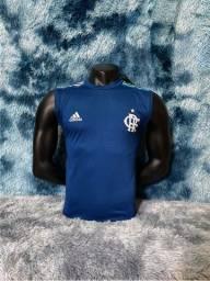 Camiseta Colete Flamengo 20 / 21 - Melhor Qualidade Fc