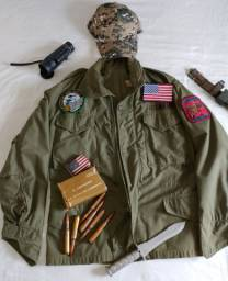 Jaqueta Militar do Exèrcito Americano + Brinde