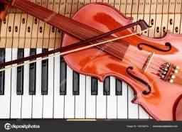 Aulas de piano, violino, canto, inglês, aulas de português