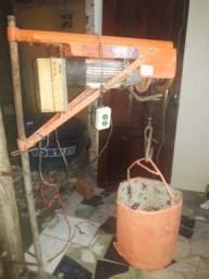 Guincho de coluna para construção civil
