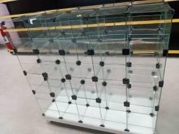 Baleiro em vidro