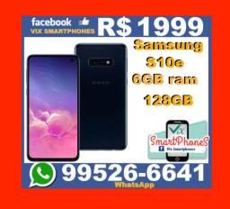 T*O*P* Samsung S10e 128GB 6G novo garantia_1_ano