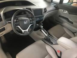 Civic LXR 2014/14 Completo Conservado Multimídia