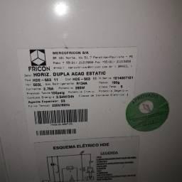 Freezer Horizontal Duplo Fricon 503L - 220v - Usado - Modelo HDE-503 11
