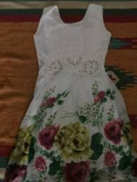 Vestido da estação - primavera