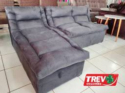 Sofá Onix Com Chaise